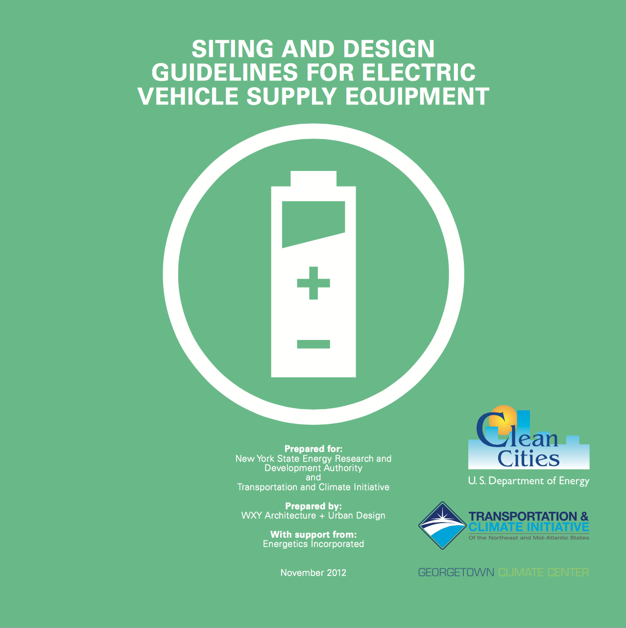 Siting and Design Guidelines for Electric Vehicle Supply Equipment
